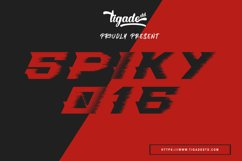 Spiky-016 Product Image 1
