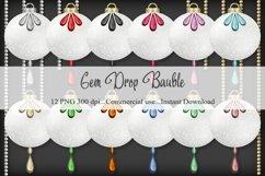 Gem Drop Bauble Product Image 1
