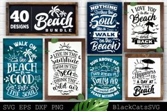 Beach Bundle SVG 40 designs Summer SVG bundle Product Image 4