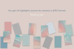 """24 Instagram Highlight Covers """"Sea"""" Product Image 3"""