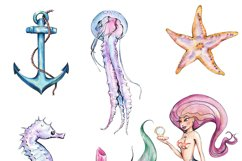 Mermaid clipart Product Image 2