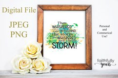 They whispered to her ! Sublimation Design Product Image 1