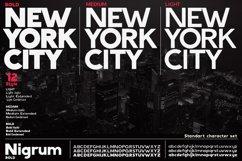 Nigrum - Sans Serif font Family Product Image 5