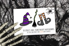 OctobaDoodles - A Halloween Doodle Font Product Image 5