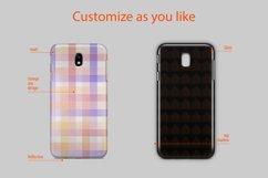 Samsung Galaxy J7 Pro 3dCase Design Mockup Back Product Image 3