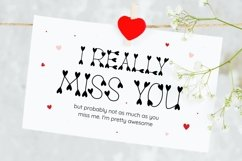 Truelove - Cute and Lovely Display Typeface Product Image 2