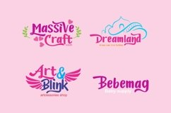 Candylove - Playful hand lettering brush font Product Image 4