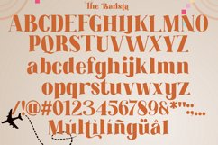 The Barista Font Product Image 5