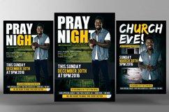 Prayer Night Church Flyer Psd Product Image 1