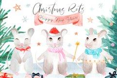 Christmas Rats. Symbol 2020 New Year Product Image 1