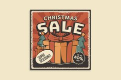 Retro Sale Discount Poster and Badge Product Image 6