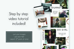 """Instagram Puzzle Feed Template """"The Storyteller"""" Product Image 3"""