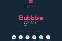 Bubbble Gum - sans serif typeface Product Image 1