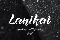 Lanikai - calligraphy script font Product Image 1