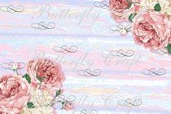 Pastel Flowers Digital Paper, Flower digital paper Product Image 4