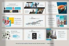 Aqua Business Keynote Product Image 9