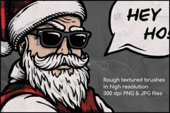 Buffalo Plaid Santa for Sublimation, Christmas Design Product Image 3