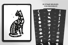 Linocut Style Stamp Brushes for Procreate and Photoshop Product Image 3