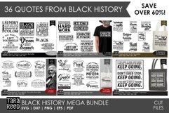 Black History MEGA BUNDLE - SVG & Cut Files for Crafters Product Image 1