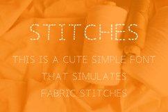 STITCHES FONT Product Image 2