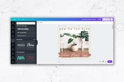Instagram Post Templates for Canva | Beige & Rust Product Image 2