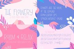 The Floral Craft Font Bundle Product Image 9