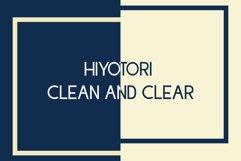 Hiyotori  3 Style Font Product Image 6