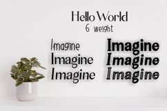 Hello World Font Family Product Image 2