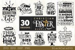 Christian Easter SVG bundle 30 designs Product Image 1