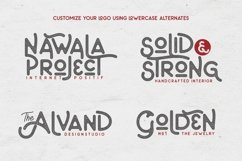 Web Font The Artland Typeface Extras Product Image 2
