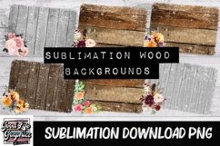 Sublimation wood backgrounds -PNG Product Image 1