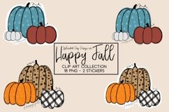 Happy Fall Clipart collection Product Image 2