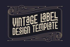 Lord Grayson font and template Product Image 3