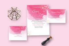 Classy watercolor wedding Suite Product Image 4