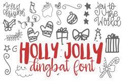 Holly Jolly Dingbat TTF Product Image 1