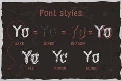 Yo-ho-ho. Vintage layered label font Product Image 2