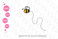 Cute Bumble Bee Gnomes svg | Gnomes Honey png| svg png dxf Product Image 6