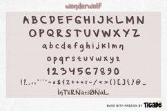 Wonderwolf - Fancy Display Font Product Image 5