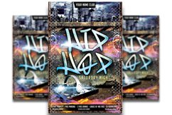 Hip Hop Flyer Template #4 Product Image 1