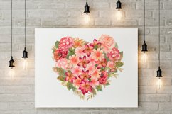Watercolor floral clipart Product Image 5