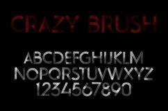 Crazy Brush Halloween Font Product Image 3