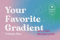 Your Favorite Gradient Backgrounds Product Image 1