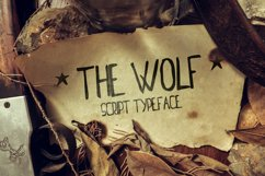 The Wolf font Product Image 1