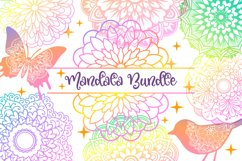 Mandala SVG Files Bundle - 40 Cut Files Product Image 1