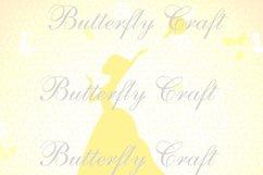 Wedding Digital Paper Pack, Bridal Shower Digital Paper Product Image 5