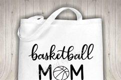 Basketball mom SVG - Sports mom SVG file, handlettered Product Image 3