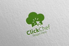 Click Food Logo for Restaurant or Cafe 64 Product Image 2
