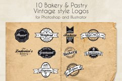 Bakery & Pastry Vintage logo Product Image 1
