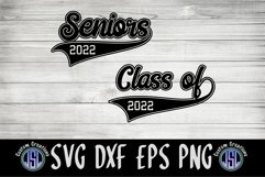 Seniors | Class of 2022 | Bundle Set of 2 | SVG DXF EPS PNG Product Image 2