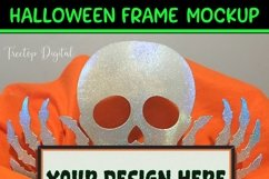 Halloween Frame Mock Up / Picture Frame Mockup PNG, JPG, PSD Product Image 5